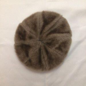 Vintage Faux Fur Beret